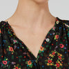 Bohemia Blouse - Noir Enchanted Meadow