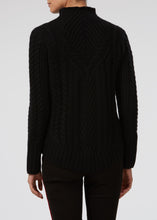 Cable Me Cashmere Knit - Noir