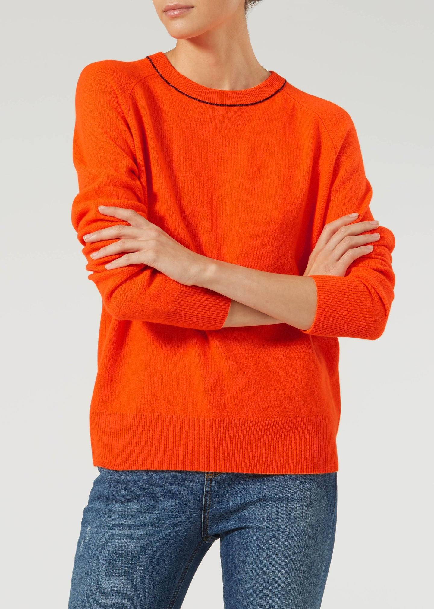 Downtime Cashmere Jumper - Future Is Bright