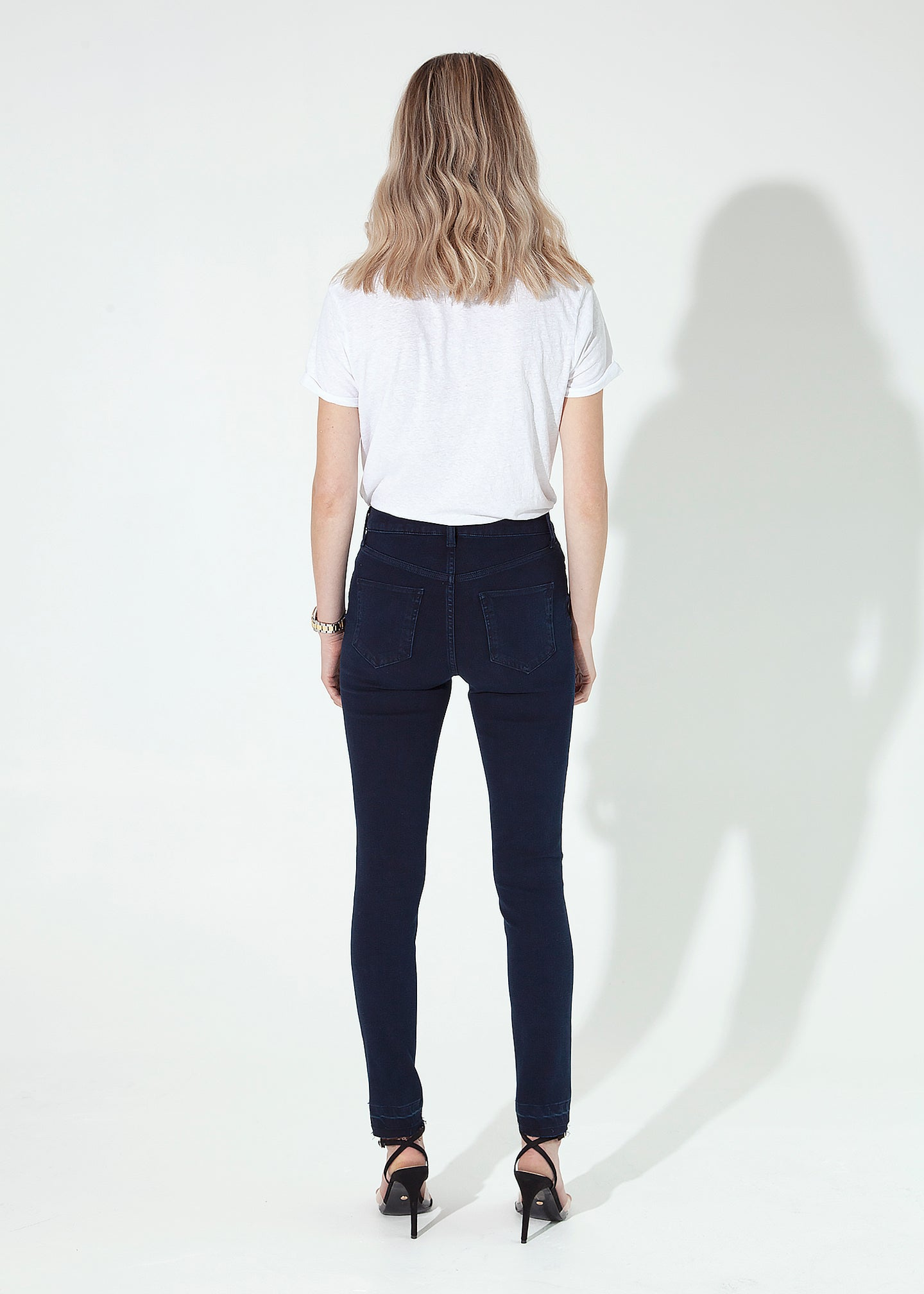 Rizzo The High Top Ankle Skinny Jeans - Release Me I'm Yours