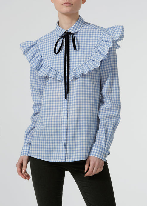 Crazy For The Colonel Blouse - Table Top Blues