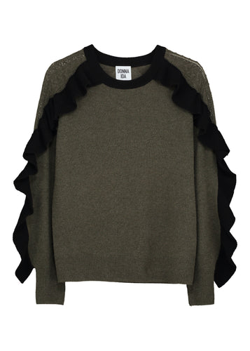 Devil's In The Detail Cashmere Knit - Noir Army