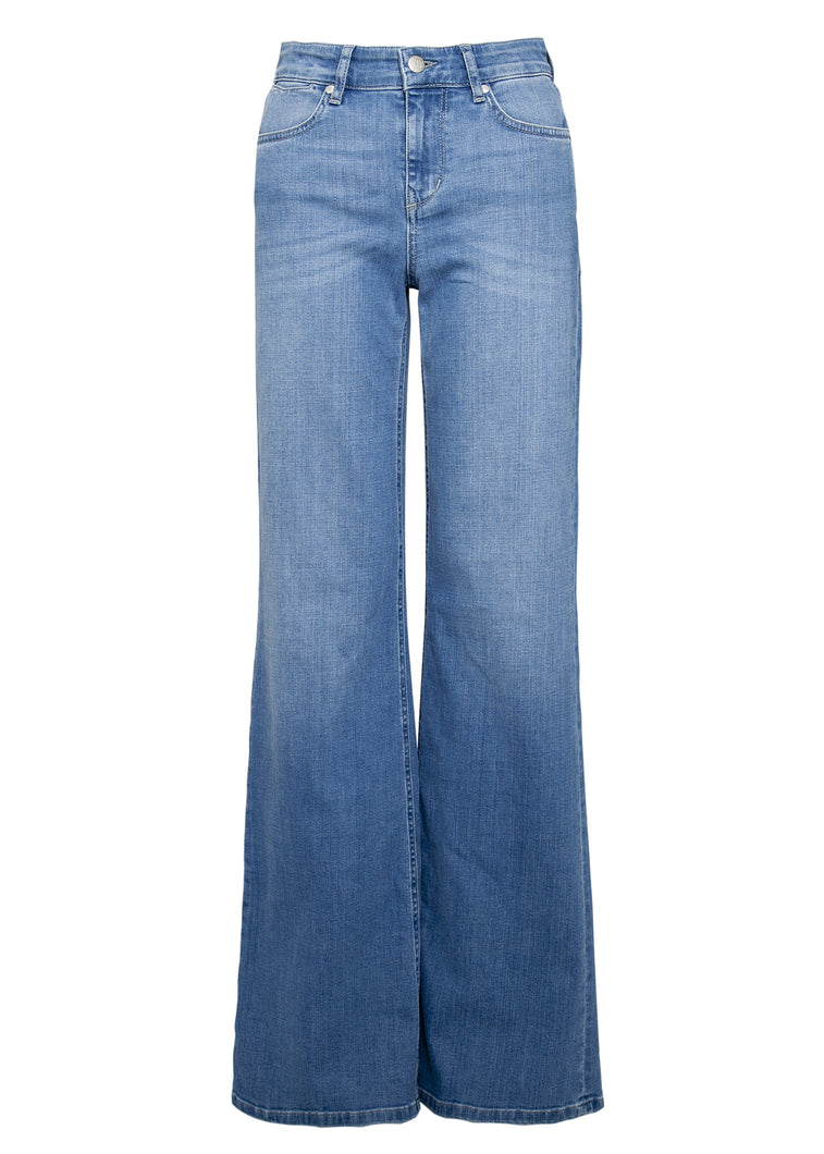 Adelaide High Top Flare Jeans - Goldies Dream