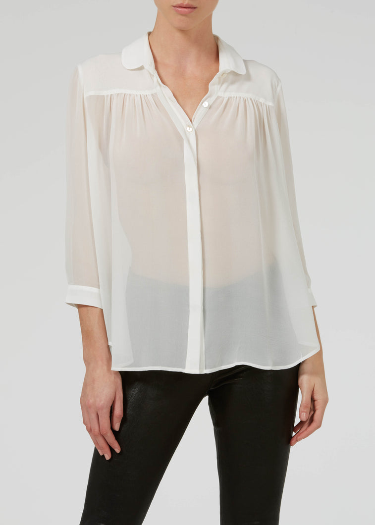 Almost Famous Blouse - Milk