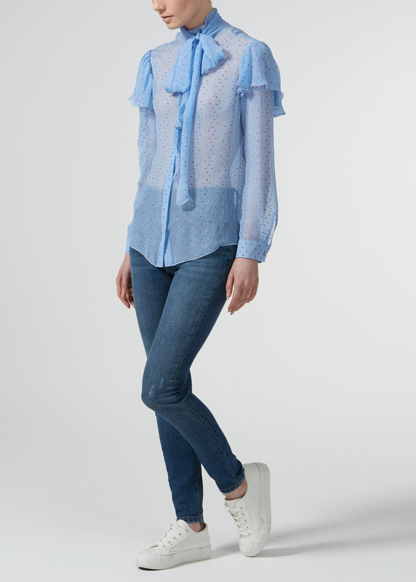 Tricked Up Maggie Blouse - Hundreds and Thousands