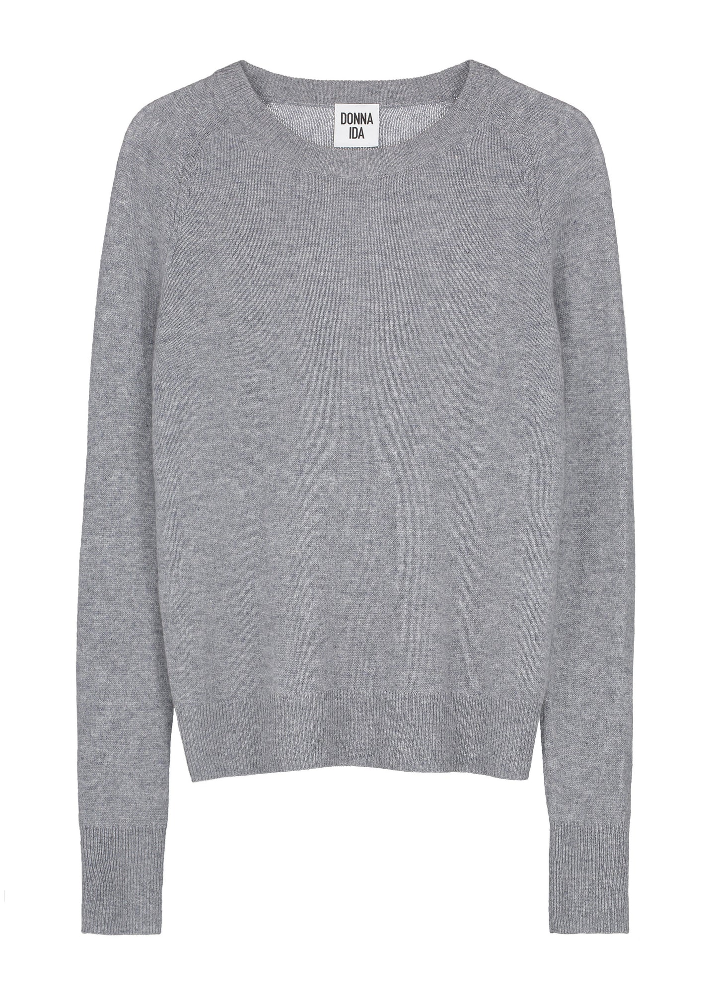 Downtime Cashmere Jumper - Slate