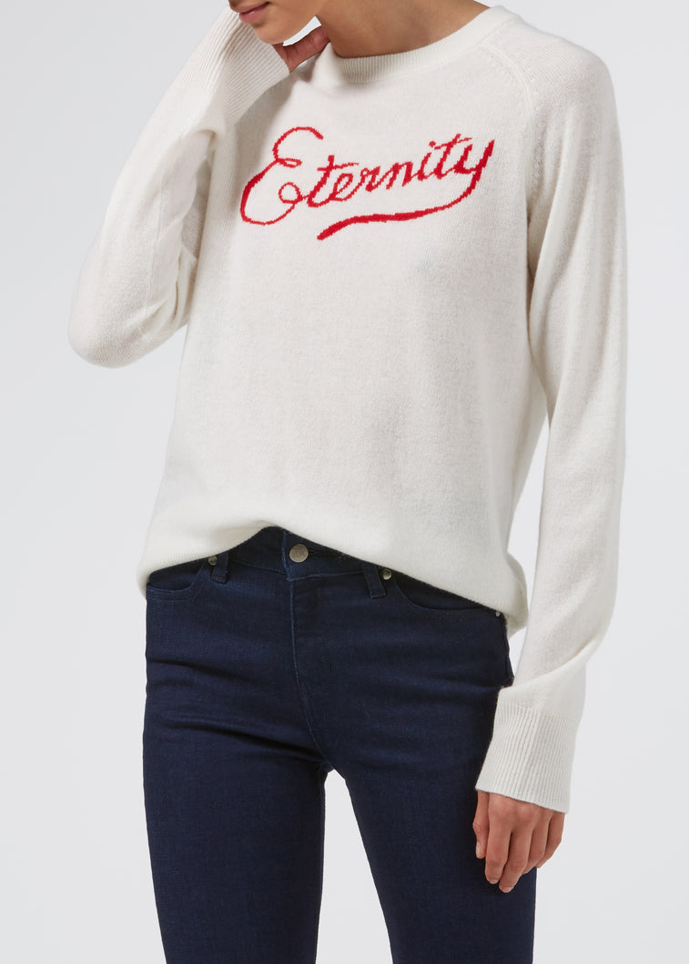 Arthur's Eternity Cashmere Knit - Milk