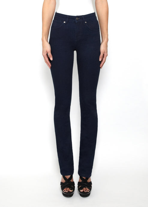 Jeanie Cigarette Leg Jeans - Deep Sea
