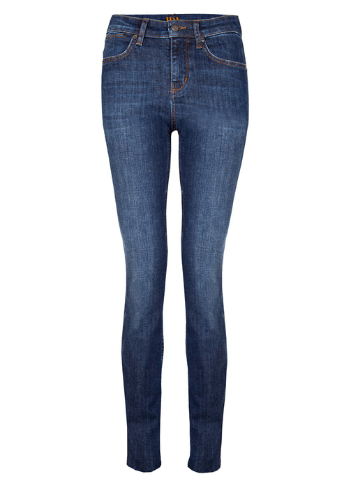 Rizzo High Top Ankle Skinny Jeans - Forever Blue