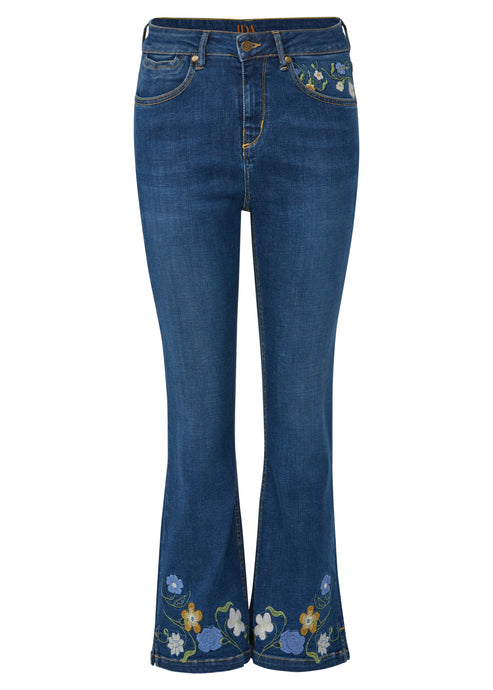 Lila Mini Boot Jeans - Forget Me Not