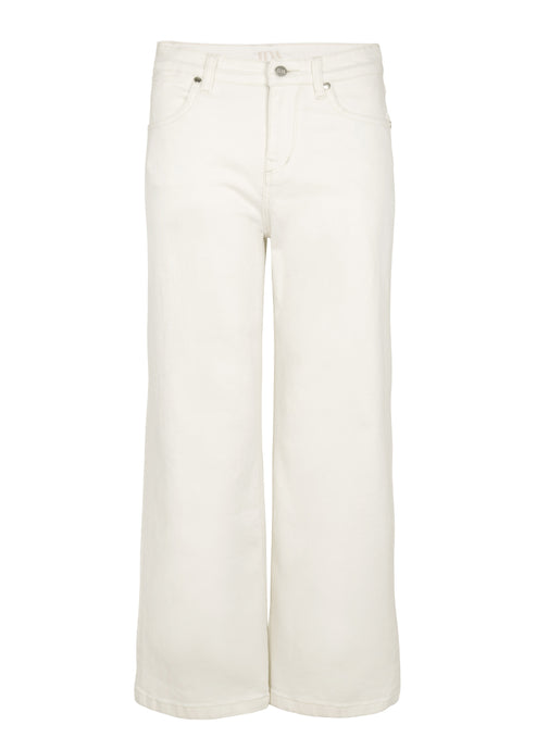 Margot Denim Culottes - Milk