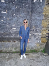 Dolly The Flight Suit - Fawcett Blue