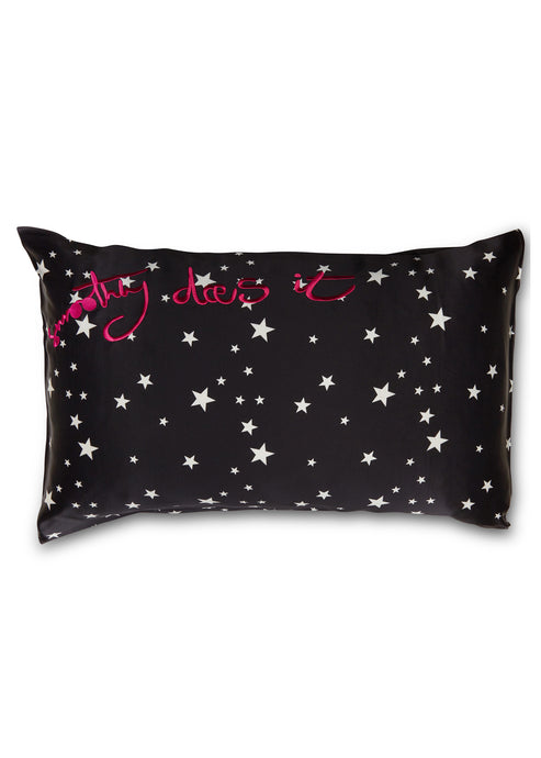 Smoothly Does It Silk Pillowcase - Star Crossed