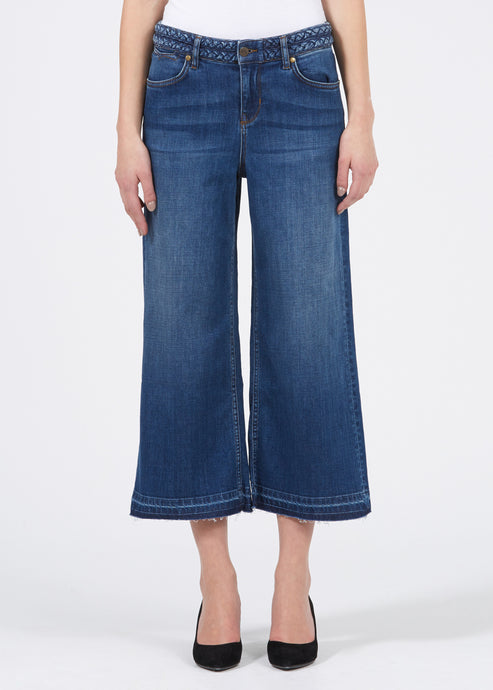 Pimp My Margot Denim Culottes - 60s Bardot
