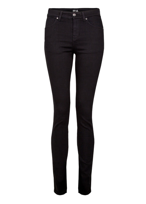Rizzo High Top Ankle Skinny Jeans - Blackest