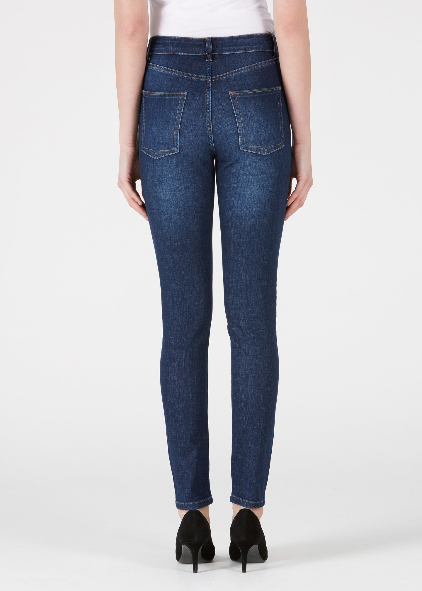 Rizzo High Top Ankle Skinny - Forever Blue