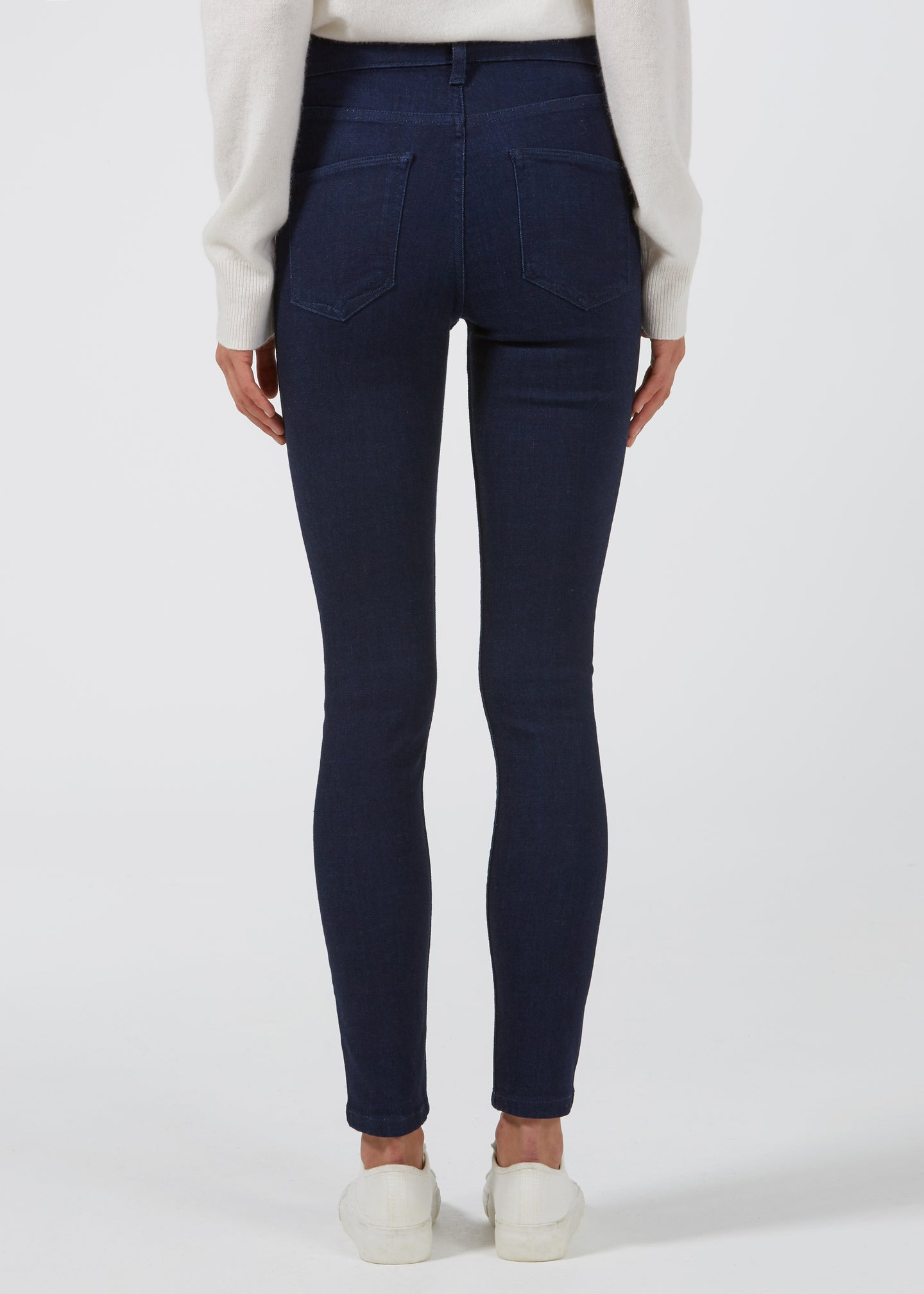 Rizzo The High Top Ankle Skinny Jeans - Indigo Dream