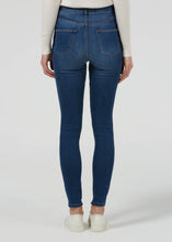 Rizzo High Top Ankle Skinny Jeans - Faster Blue