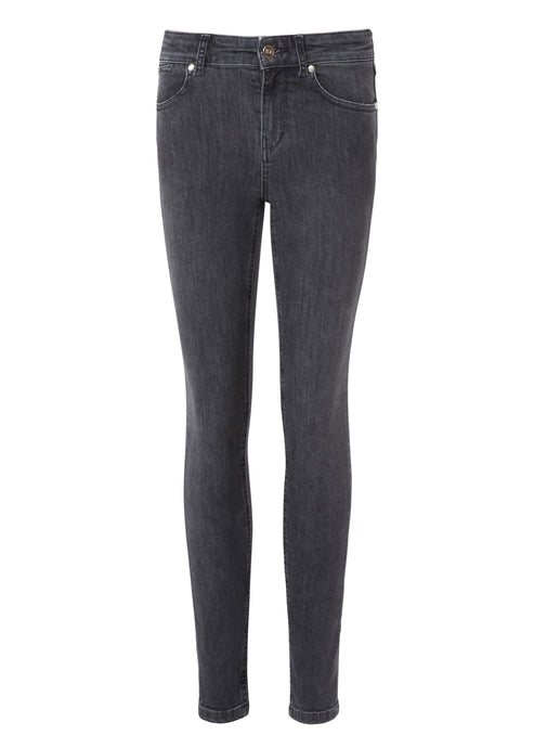 Rizzo High Top Ankle Skinny Jeans - Planetary