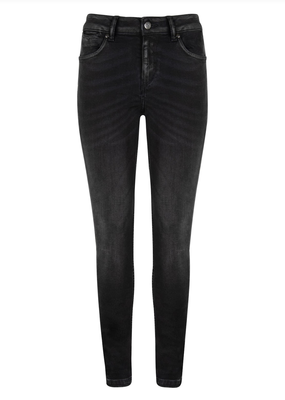 Rizzo High Top Ankle Skinny Jeans - Dark Days