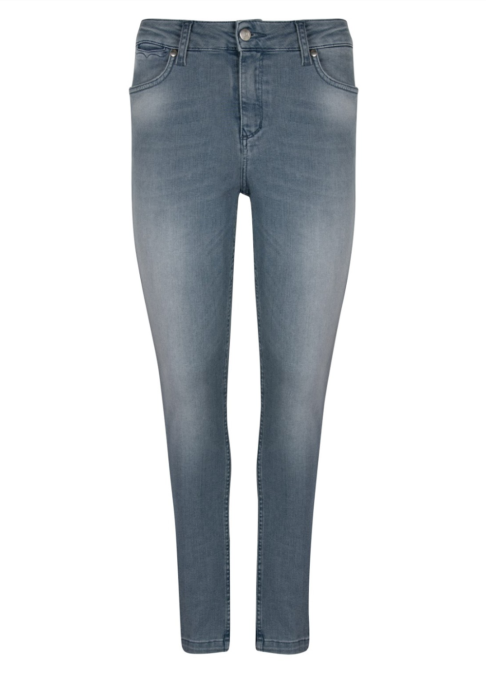Rizzo The High Top Ankle Skinny Jeans - Stormy