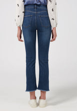 Sidney Cropped Straight Jeans - Cornbury Blues