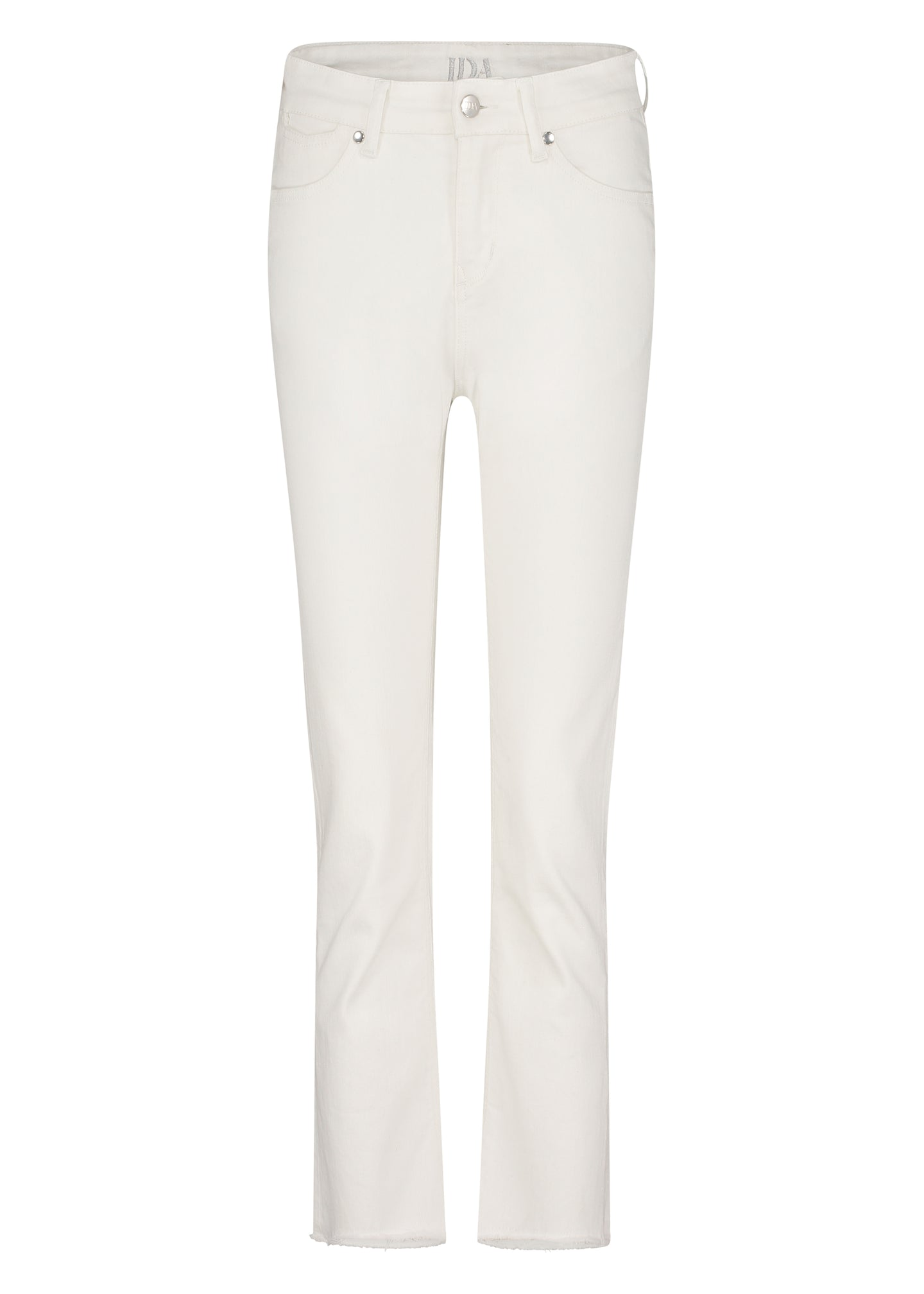 Sidney Cropped Straight Jeans - Milk
