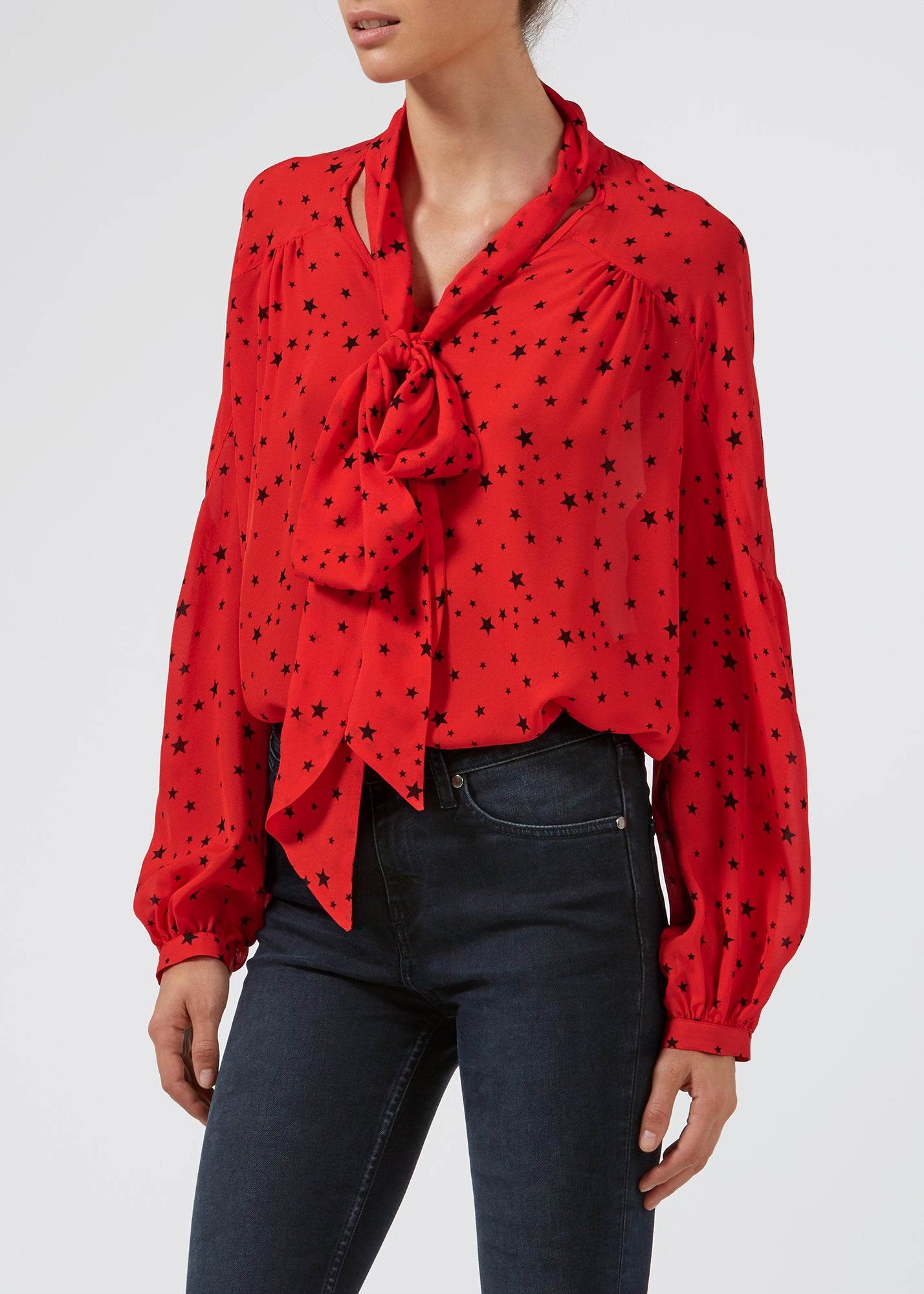 Maggie In Love Blouse - Star Crossed Nights