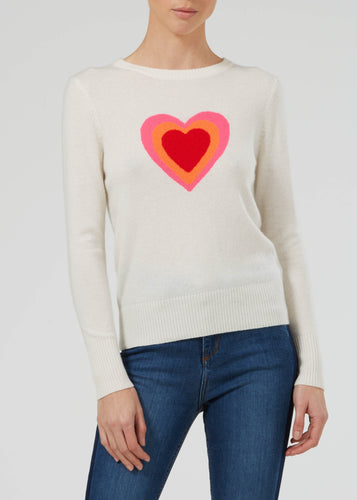Tunnel Of Love Cashmere Knit - Milk