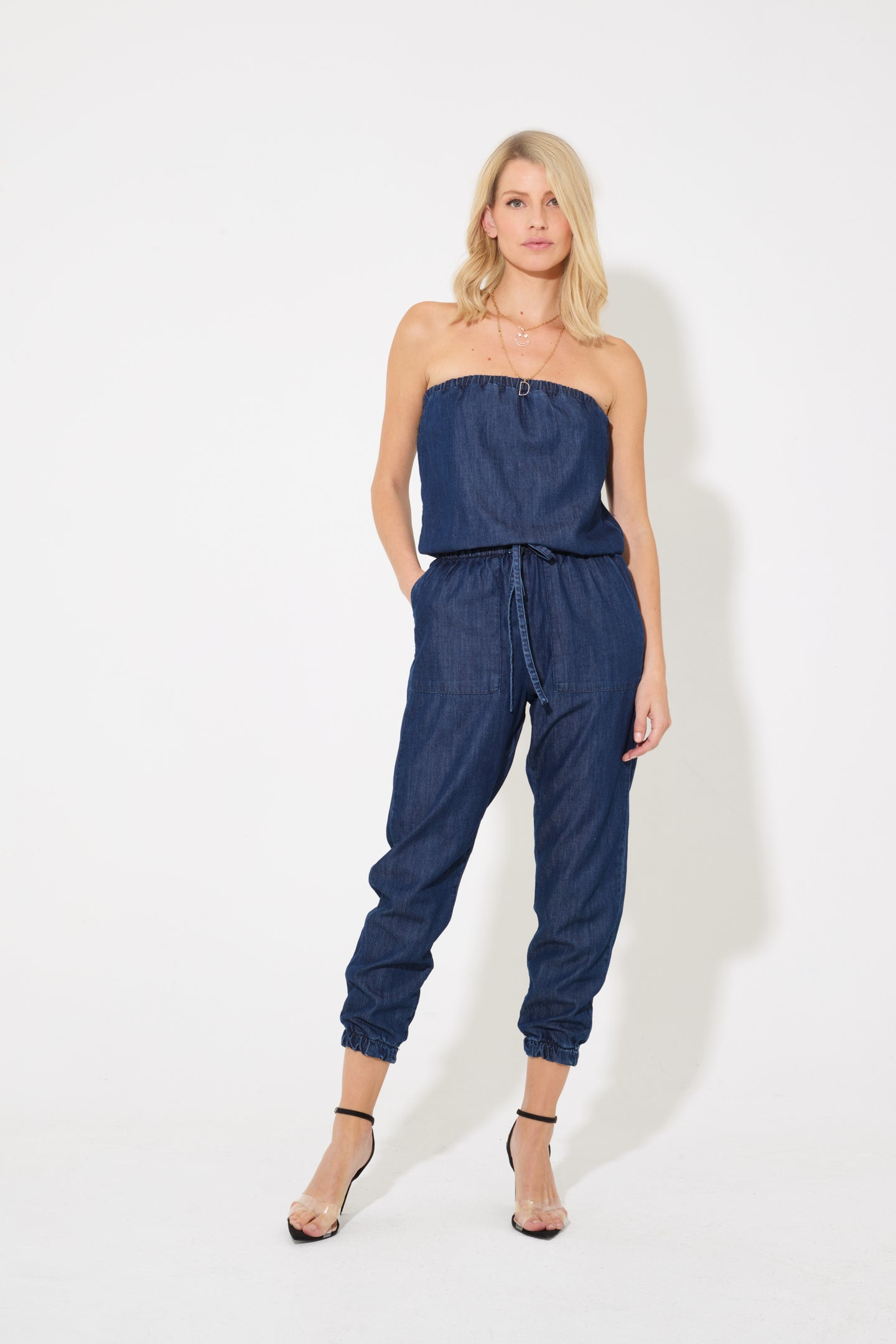 Harlow The Joyful Elasticated Jumpsuit - Summer Loving