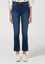 Kitty Kat Mini Boot Jeans With Released Hem - Fawcett Blue