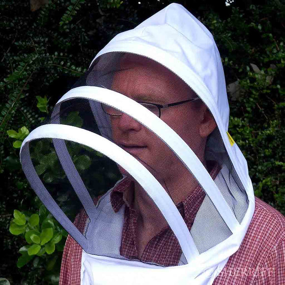 BJ Sherriff: Handy Hood Beekeepers Veil