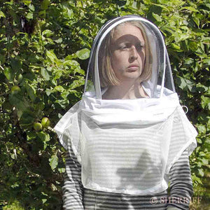 Bee Suits: BJ Sherriff: Bee Farmer Vest and Hood, White