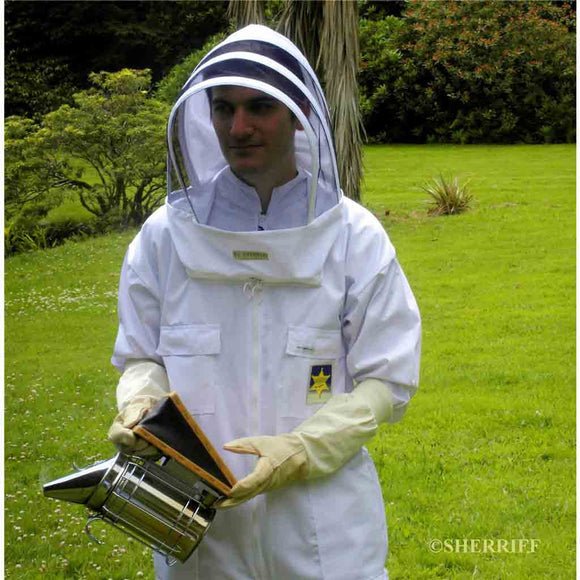 Bee Suits: BJ Sherriff: Apiarist - Full Suit, White