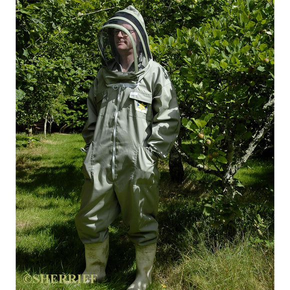 Bee suits: BJ Sherriff: Apiarist - Full Suit, Khaki