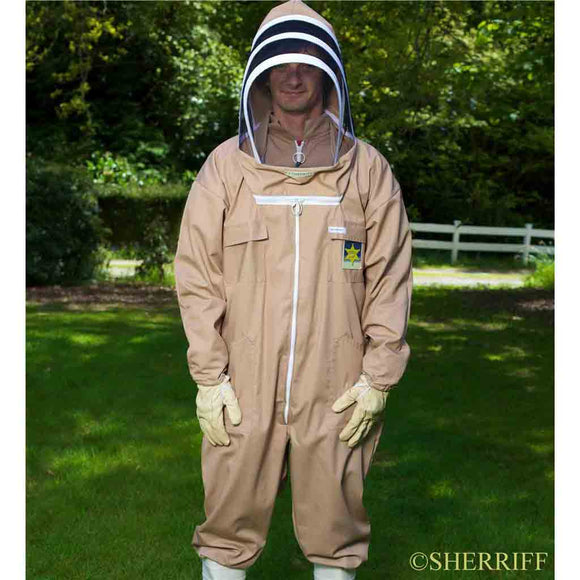 Bee Suits: BJ Sherriff: Apiarist - Full Suit, Mocha
