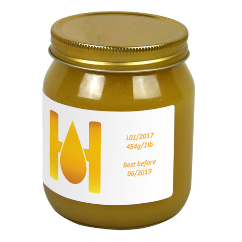 1lb Jar Label - Hello Honey (100 labels) - Bee Equipment