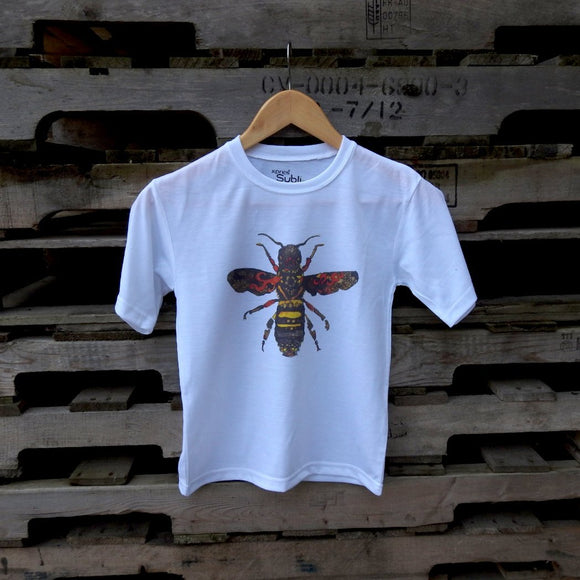 Queen Bee Kids White T-shirt