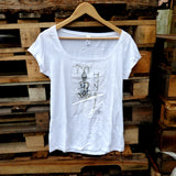 Honey-Meditation Ladies T-shirt