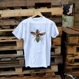 Queen Bee White Unisex T-shirt