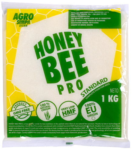 Honey Bee Pro Standard 2kg Pallet - Free Shipping Included
