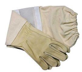 Economy Vented Leather Gloves, Small