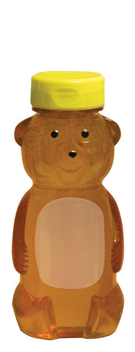 12oz Bear With Lid, 24 Pack - Bee Equipment