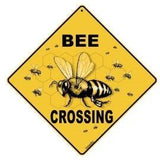 Bee Crossing Sign - Bee Equipment