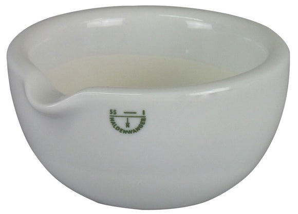 White Porcelain Mortar