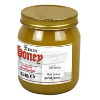 1lb Jar Label - Old English (100 labels) - Bee Equipment