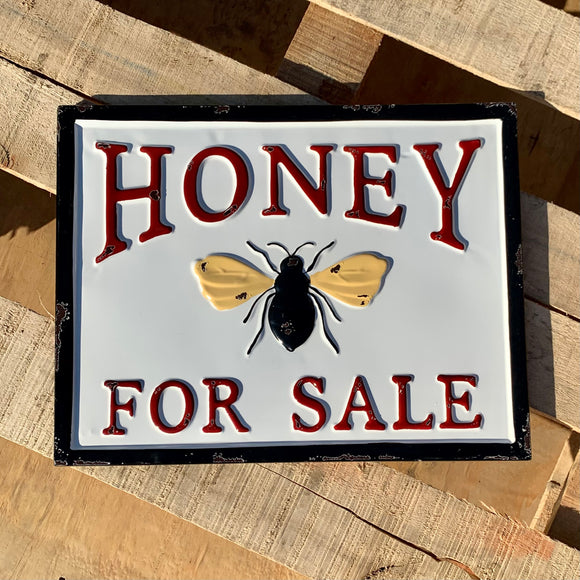 Vintage Honey For Sale Sign