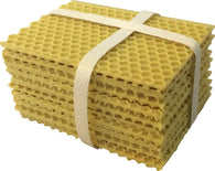 Beeswax Coated Plastic Foundation for Mini Mating Nucs 10pk - Bee Equipment