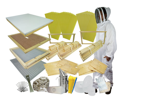 Complete Langstroth Starter Hive Kit - Bee Equipment
