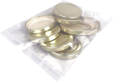 Replacements Lids for 12oz Hex glass, 10 pack